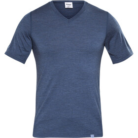 Bergans Bloom T-Shirt in lana Uomo, navy melange